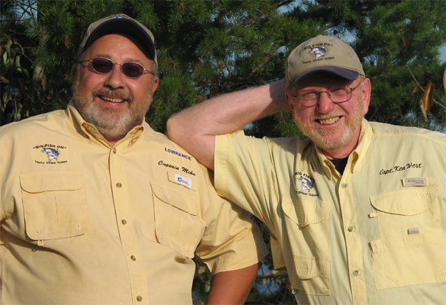 Your Guides,  Capt. Mike Maddalena and Capt. Ken West