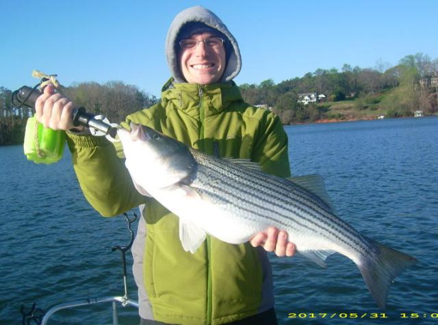Lake lanier fishing report 04 06 2011 lake lanier fishing for Lake lanier striper fishing